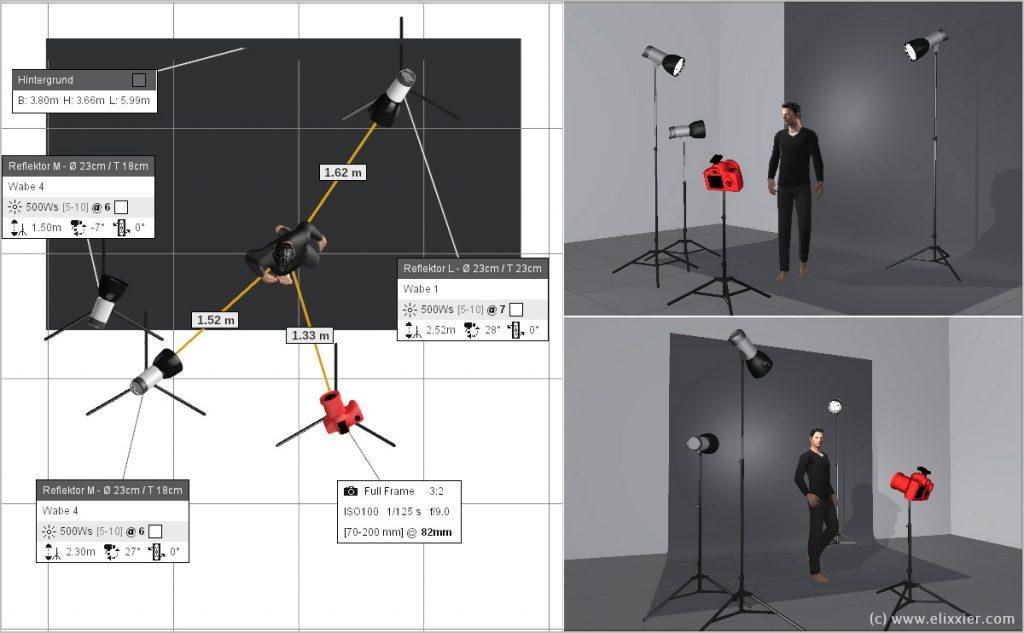 setaufbau-dynamisches-portrait-rembrandtlicht